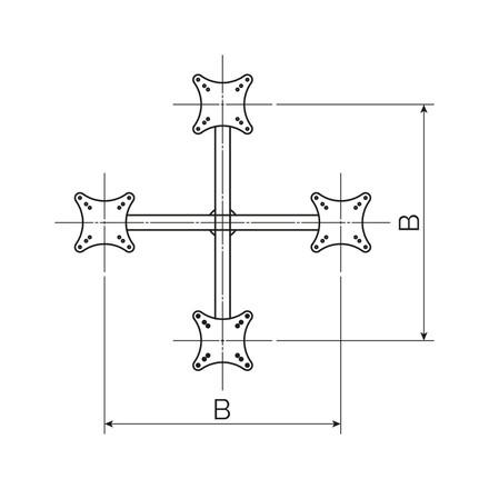 Кронштейн оголовник КО4-4.2