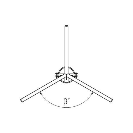 Кронштейн оголовник КО5-3