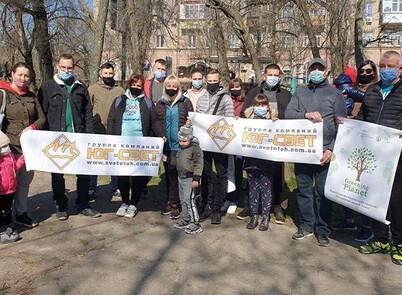 ЮгСвет взяв участь у проєкті з озеленення України!