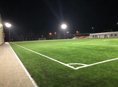 Осветили стадион в Хмельницком