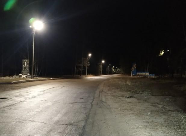 Освітлення вулиць в с. Іршанськ
