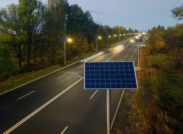 Освітлення траси Н-16 у Черкасах